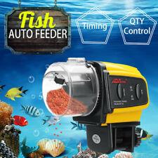 New listing Automatic Fish Feeder Aquarium Tank Auto Fish Food Timer Adjustable Dispenser