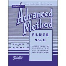 Hal Leonard Rubank Advanced Method for Flute Volume 2