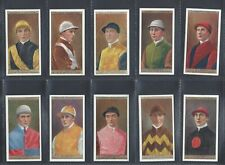 OGDENS - JOCKEYS AND OWNERS COLOURS - FULL SET OF 50 CARDS