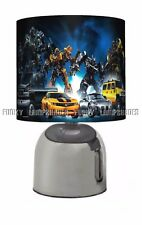 TRANSFORMERS ☆ BEDSIDE TOUCH LAMP ☆ BOYS NIGHT LIGHT ☆ MATCHES DUVET