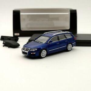 VW 1:64 Volkswagen Passat R36 Travel Edition Diecast Model Car Toys Gifts Blue