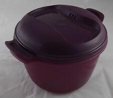 Tupperware I 59 Großer Reis-Meister 3 l Reiskocher für Mikrowelle Lila Neu OVP