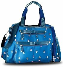Next Mommy Baby Diaper Bag with Changing Pad, Stroller Clips and Shoulder Strap,