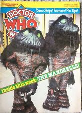 Doctor Who Weekly No18 Marvel Comic Feb 13th 1980