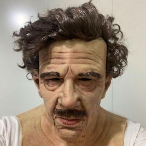 The Elder Latex Old Man Headgear Realistic Cosplay Costume Halloween Party Masks