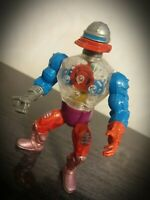 Rare Vintage He-Man Roboto Action Figure Masters Of The Universe MOTU Mattel 84