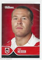 2015 NRL Traders Faces of the Game (FOTG 38 / 48 ) Trent MERRIN Dragons