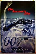 James Bond: Die Another Day (Advance) 2002 Original Movie Poster 27x40 Rolled