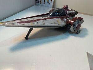 2007 Hasbro Star Wars 2007 LFL V-Wing Fighter Ship