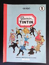 Collecteur images Tintin Riz Boss 1979 avec rousseurs