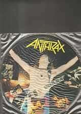 "ANTHRAX ‎– Madhouse EP 12"" picture disc"