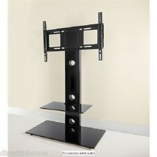 Austin New York Signature black glass floor tv stand