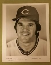 PETE ROSE VINTAGE CINCINNATI REDS 1978 TEAM ISSUE PHOTO