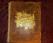 Portrait and Biographical Record  Illinois 1891 1st edition Genealogy RECORDS