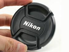 LC-62 Centro Pinch Copriobiettivo Per Nikon Lenti Fit filettatura del filtro 62 mm-UK Venditore
