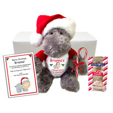 Hippopotamus For Christmas Personalized Gift Set