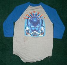 New listing Vtg 80s Journey Tour 1983 T-Shirt Rock Band Sz S/M Usa Made Raglan 3/4 Ringer