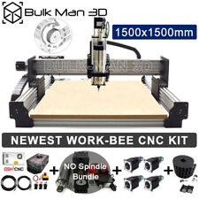 1515 Newest Work Bee Cnc Wood Router Machine Kit Precise T8 Leadscrew Drive