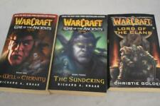 Set of WARCRAFT Trilogy paperbacks Books 1 2 & 3