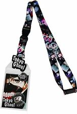 Tokyo Ghoul Anime Lanyard Sticker ID Badge Holder & Charm New Official Licensed
