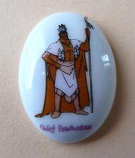 Fève Pocahontas une Légende Indienne - Disney 1996 - Chief Powhatan