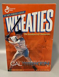 Cal Ripken Jr 2001 Baseballs All-Time Iron Man Wheaties Collectors Sealed Box