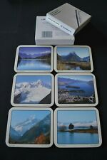 Vintage Jason Coasters (x6) - South Island Scenic (New Zealand)