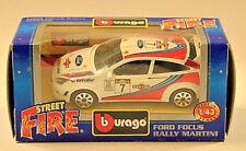 "Bburago B Burago 1/43 Diecast Model ""made in Italy"" Cod 4128 Ford Focus Rally"