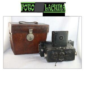 Rollei Stereo Heidoscop 6x13 cm con Tessar 7,5 cm f 4,5 Germany 1925/40