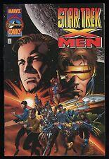 Star Trek X-Men 1 Marvel Comic 1996 crossover Marc Silvestri art Wolverine Spock
