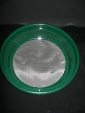"Gold Pan Panning Classifier Mesh 1/100"" Screen Sifter W/Free Vial! Prospecting"