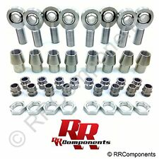 "1-1/4 Chromoly 4-Link Rod Ends,Heim 1 to 3/4 HMS Spacers (Fits 2"" x.250 Tube) SB"