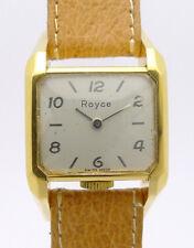 Royce Driverswatch Doublé Armbanduhr aus den 30er/40er Jahren im Designgehäuse