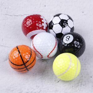 Golf Balls Golf Equipment Football Basketball Tabletennis Baseball 6Pcs/Set Ad