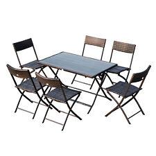 Sedie E Tavoli Pieghevoli Da Giardino.Set Di Tavoli E Sedie Da Esterno Outsunny Acquisti Online