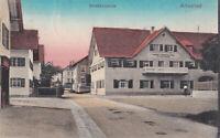 AK Altusried; Brauerei und Gasthof zur Post, gel. am 24.8.1914