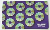 Walmart Gift Card - Silver foil Style CD's, DVD's - Older - No Value - I Combine