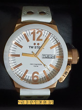 RELOJ TW STEEL CEO CANTEEN CE1035 CERAMIC WHITE ROSE GOLD