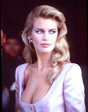 1990-1999 CLAUDIA SCHIFFER (Supermodel) color glamour classic photo