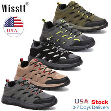 Mens Waterproof Trekking Trail Shoes Lightweight Outdoor Hiking Boots Sneakers