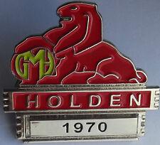 1970  HG LION Badge Year pin-Belmont-Kingswood-Premier-Monaro-Brougham -C031101Y