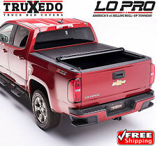 TruXedo Lo Pro Tonneau Roll Up Bed Cover for 15-17 Chevy Colorado GMC Canyon 5ft