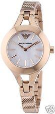 New Women's Emporio Armani AR7329 Watch Tags Warranty Box RRP $449