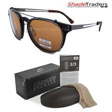 Gafas para sol con SERENGETI PALMIRO Torte Gunmetal Polarizado Marrón controladores 8054