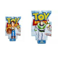 Disney Pixar Toy Story 4 Basic Figure - Choose from Woody or Buzz