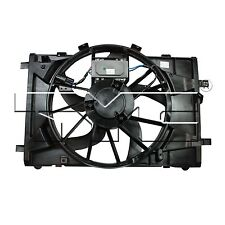 TYC 622430 Dual Rad& Cond Fan Assy for Ford Fusion 2.5/3.0L 2010-2012 Models