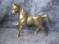 Solid Brass Vintage Horse