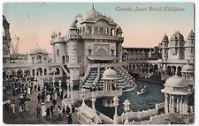 Cascade, Japan British Exhibition PPC, 1910 North Kensington Squared Circle PMK