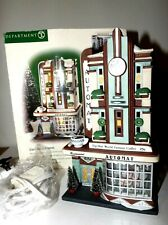 Dept 56 Christmas in the City Clark Street Automat Lighted Building 58954