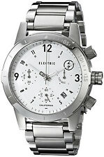 Electric Men's EW0020010002 FW02 White Chronograph Stainless Steel Field Watch